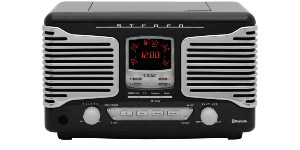 teac sld800 cd receiver bluetooth stereo clock timer